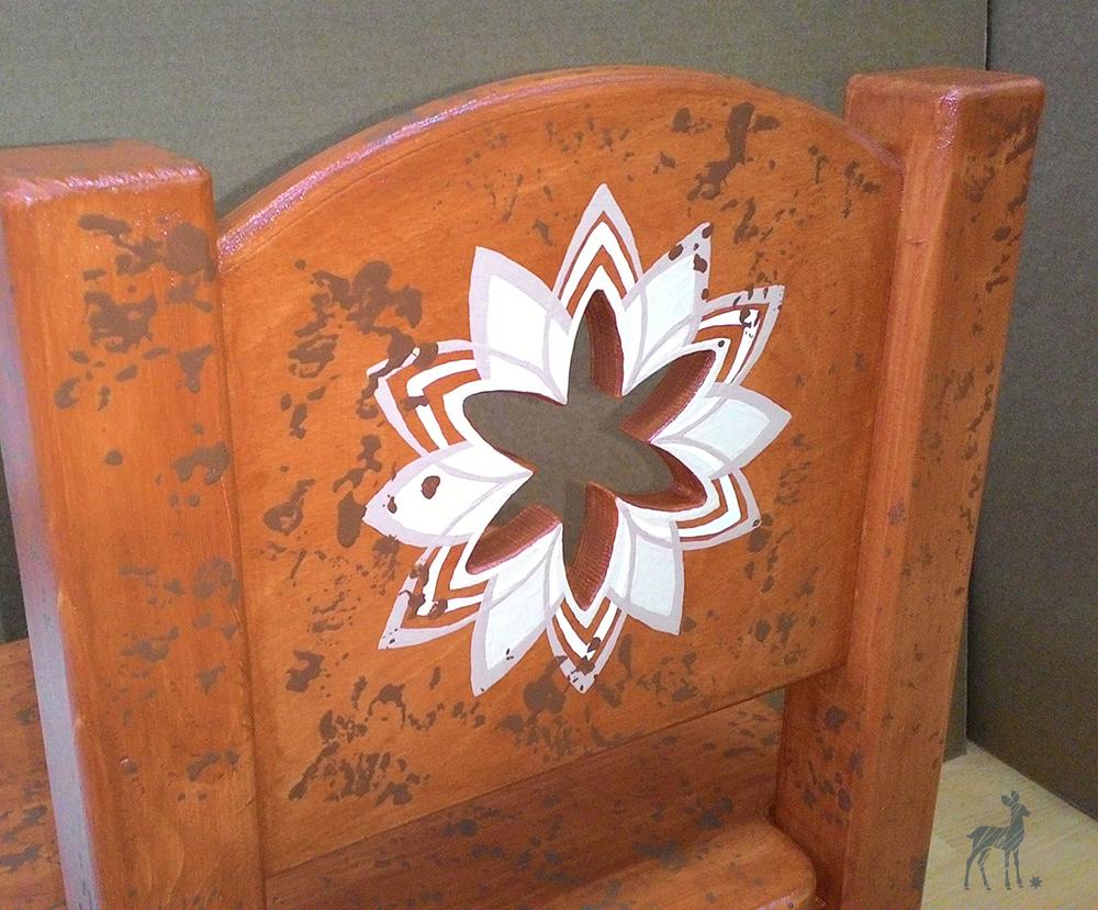 стульчики лилия резные роспись